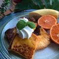 【育脳レシピ】朝食にキャロットジュースでフレンチトースト
