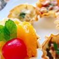 【餃子の皮】簡単サクサクタルト5種