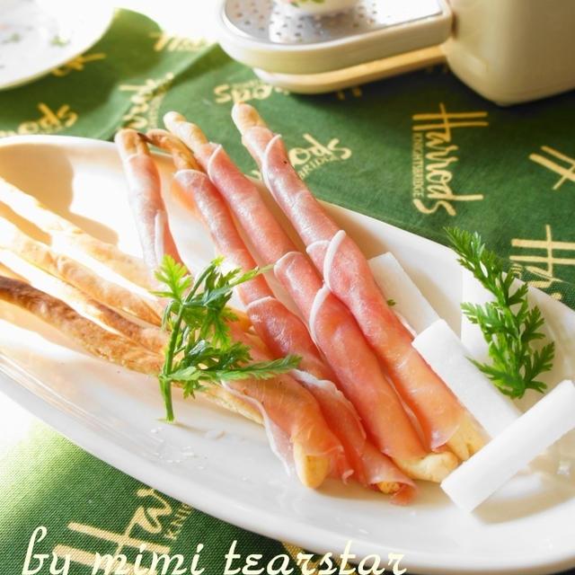 イタリアンなパーティーレシピ【グリッシーニ ペッパー&チーズ】×キューリグ ネオトレビエ