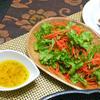わさび菜の簡単スパイシーサラダ