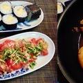 写真が・・・・(汗)☆たまご巻き寿司♪~♪