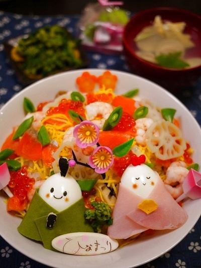 ひな祭りに作りたい♡彩りきれいなちらし寿司のレシピまとめ