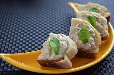 簡単なのに本格イタリアンな味!ツナのスプレッド