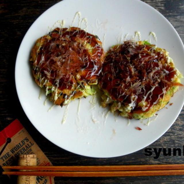 【簡単!!】水切り不要*ふわふわ豆腐のお好み焼き