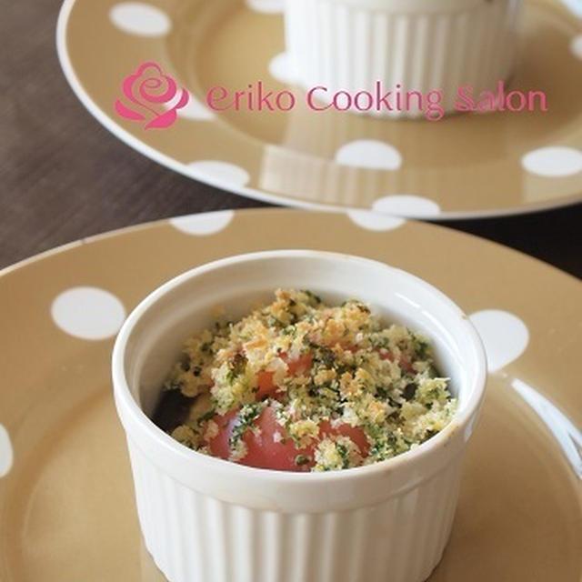 「アボカドとトマトのガーリックパン粉焼き」レシピとクラフトビアキッチン