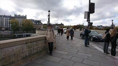 フランス パリ ポンヌフの橋 15