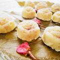 お花見や春休みのおもてなしに♡桜のホワイト生チョコレート/混ぜるだけで簡単♪ by satorisuさん