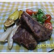 豚のスペアリブのオーブン焼き