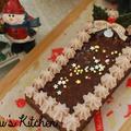 【材料費500円以下】業務スーパーの人気ケーキをアレンジして☆濃厚クリスマスケーキ