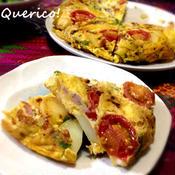 ハーブが香るスペイン風オムレツ〜Tortilla a la espa?ola〜