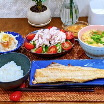 棒々鶏のタレレシピといちごパフェ