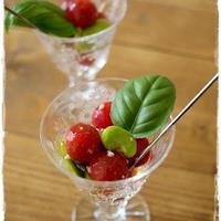 ☆空豆ポポロとプチトマトのマリネ