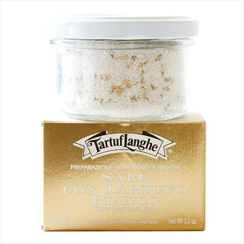 フランス産の高品質の塩に、アルバの高品質な白トリュフをフリーズドライしたものが入っています。お肉に、...