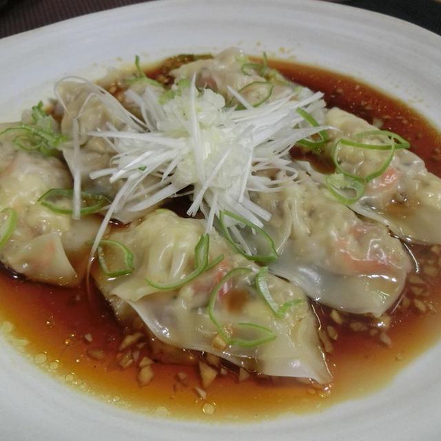 四川風豆腐水餃子