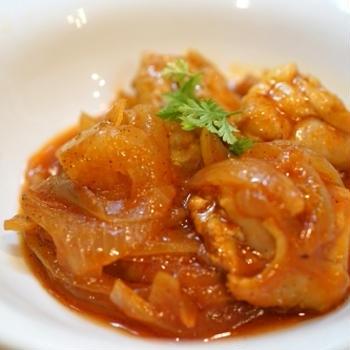 鶏肉のトマトジュース煮☆