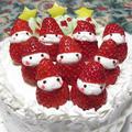 サンタいっぱいクリスマスケーキ by ONIKOさん