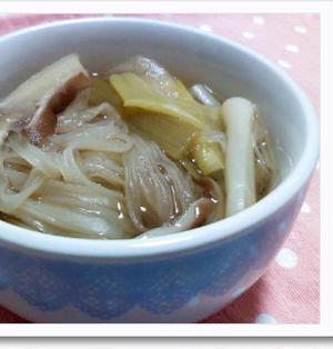 暑い夏に!甘酢生姜でトムヤムクン風♪