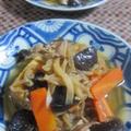 「豚肉と切り干し大根と厚揚げの煮物」 by ぴよさん