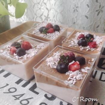 マシュマロムース チョコ&ストロベリー