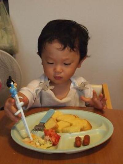 お箸の国ですから★博多かしわ飯★揚げ鶏のネギソース