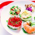 【レシピ動画】簡単!寿司ドーナッツの作り方☆ by 和田 良美さん
