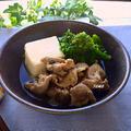 「ヤマサ ぱぱっとちゃんと これ!うま!!つゆ」で楽々♪豚肉と菜の花のサッと煮 by TOMO(柴犬プリン)さん