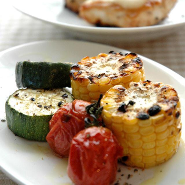 夏野菜グリル。