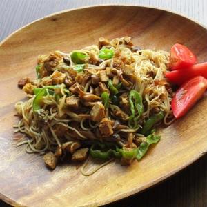 エスニック風炒め素麺
