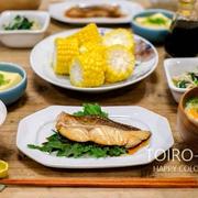 今日は和食!鯛の煮付け定食