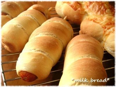 ロングフランクロール&とろ~りチーズパン