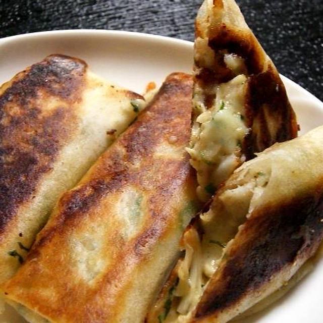 鱈とチーズのコクうま焼き春巻き