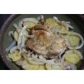 ≪鶏肉と じゃがいもの スパイシー炒め≫