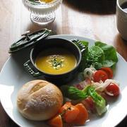 ストウブで、野菜を楽しむワンプレートランチ♪