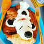 スヌーピーカレー♪#肉スタグラム ^^♪&コロナウイルスとマスク。