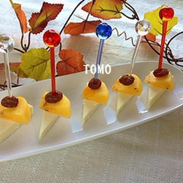子供も喜ぶ♪小岩井乳業 クリーミーチーズと柿のデザートピンチョス
