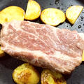 粕漬牛肉のステーキ☆