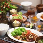【献立】アスパラと玉ねぎのステーキ風肉巻き。~PRIDEは名曲~