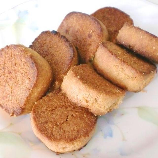 ガスコンロで作る!高野豆腐ときな粉のクッキー