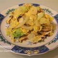 もう一皿ほしい時の簡単おかず☆キャベツと卵のニンニク炒め☆