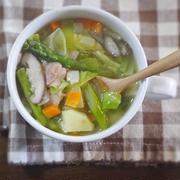 あったか春野菜のおかずスープ