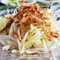 冬に楽しむサラダ♪白菜のシンプルサラダ