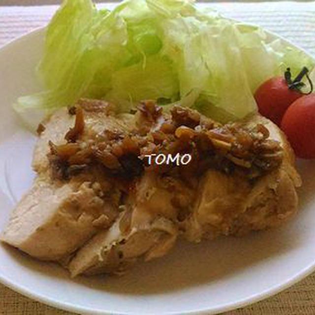 舞茸で柔らか~♪鶏胸肉のオイバタ舞茸ソテー