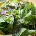 【レシピ】サラダは、オリーブオイル+塩+こしょう+バルサミコ酢+レモン+ハチミツかけが、お気に入りの味つけ