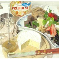 カマンベールチーズが主役のお家パーティー  くるみ篇