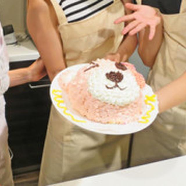 日本テレビ「キラきら時間」SUPER☆GiRLSさんと立体ケーキ作り