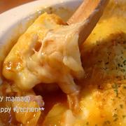 食べ過ぎ注意☆お餅のチーズトマトグラタン