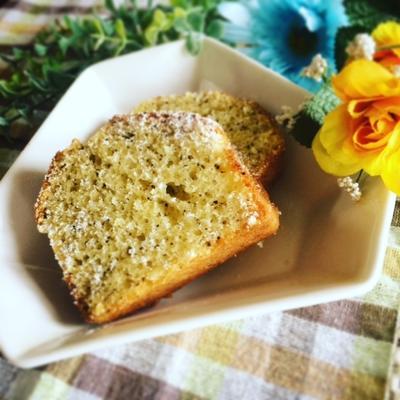 簡単☆ホットケーキミックスで紅茶レモンのパウンドケーキ