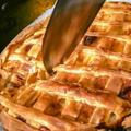 朝食シリーズ「ビックリ!海老クリームパイ」
