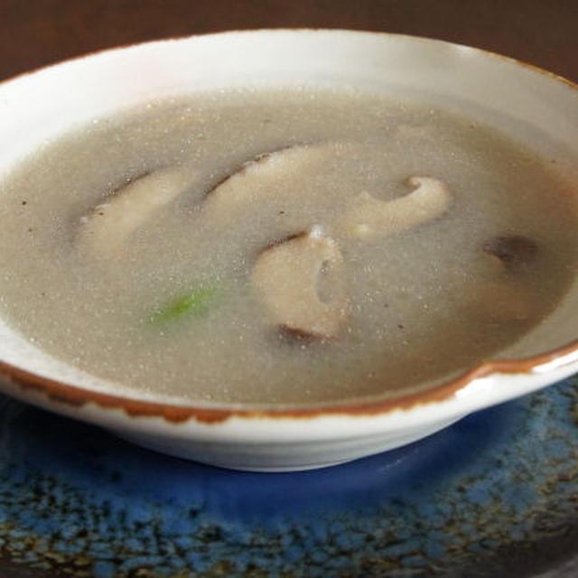風邪ひきさんにレンコンスープ