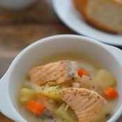 フィンランド風サーモンスープ